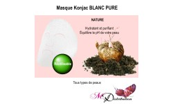 Masque Konjac BLANC PURE NATURE