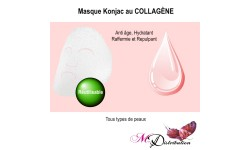 Masque Konjac au COLLAGÈNE